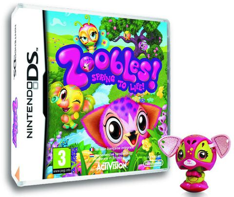 Zoobles : Spring To Life + Jouet
