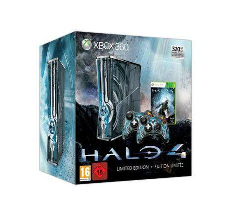 Pack Xbox 360 320 Go + Halo 4 Edition Limitée
