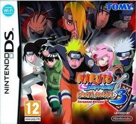 Naruto Shippuden Ninja Council 3, European Version