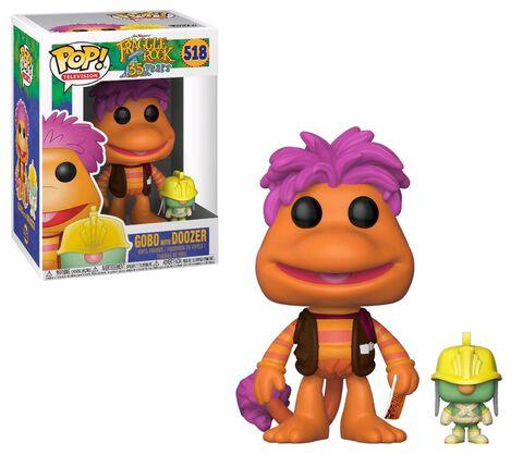 Figurine Toy Pop N°518 - Fraggle Rock - Gobo avec Doozer