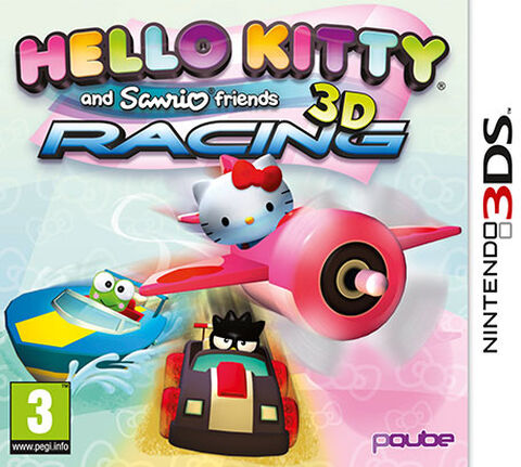 Hello Kitty & Friends 3d Racing 3ds