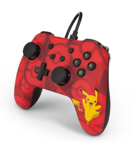 Manette Filaire Nintendo Switch Pikachu