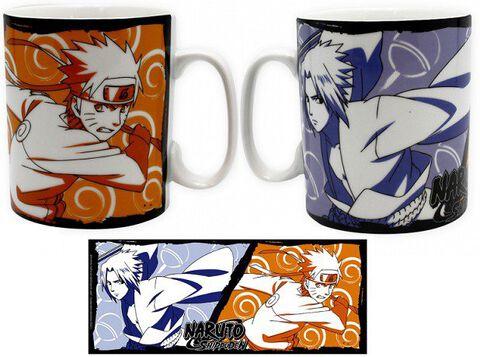 Mug - Naruto - Naruto & Sasuke 460 Ml