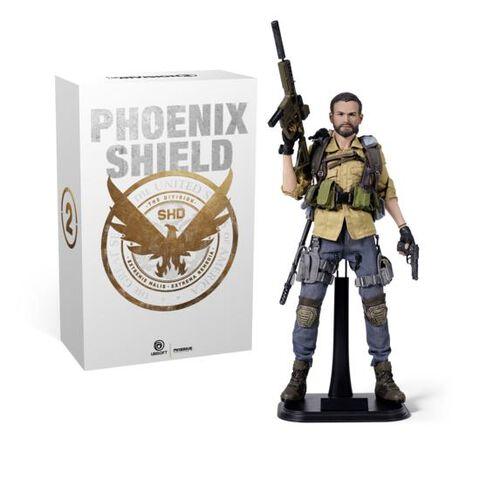 The Division 2 Edition Bouclier Phoenix (exclusivite Micromania)(sans Le Jeu)