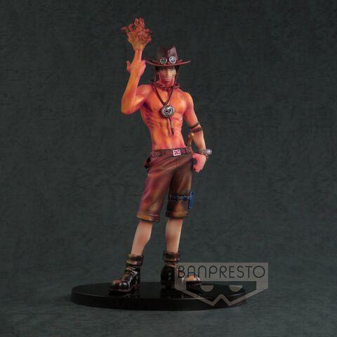 Statuette Long Scultures - One Piece - Portgas D. Ace