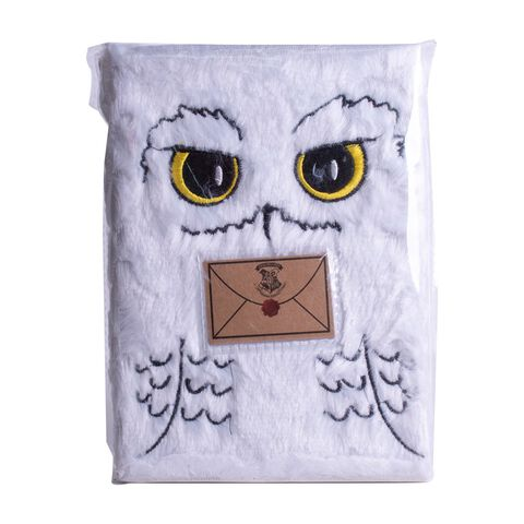 Bloc-notes - Harry Potter - A5 Peluche Hedwige