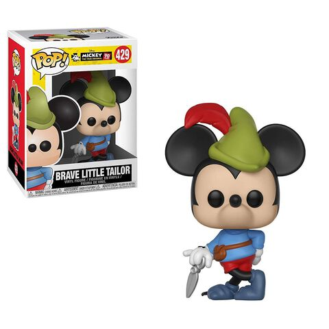 Figurine Funko Pop! N°429 - 90eme Anniversaire de Mickey - Mickey tailleur