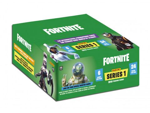 Cartes Fortnite - Panini - Boîte De 24 Pochettes