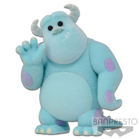 Figurine Pixar Character - Monster & Cie - Fluffy Puffy Petit - Sulley