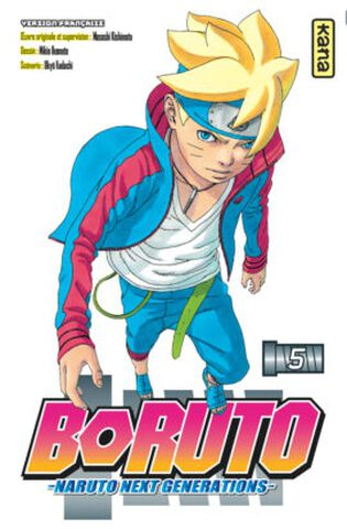 Manga - Boruto : Naruto Next Generations - Tome 5
