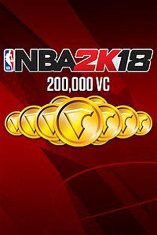 Dlc NBA 2k18 200 000 Vc Xbox One