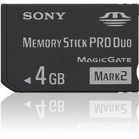 Memory Stick Pro Duo 4 Go Sony Rme
