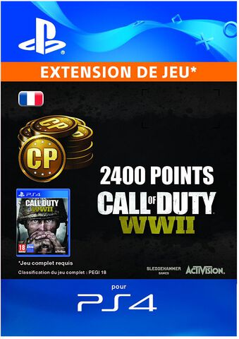 Call Of Duty: Wwii - 2400 Points