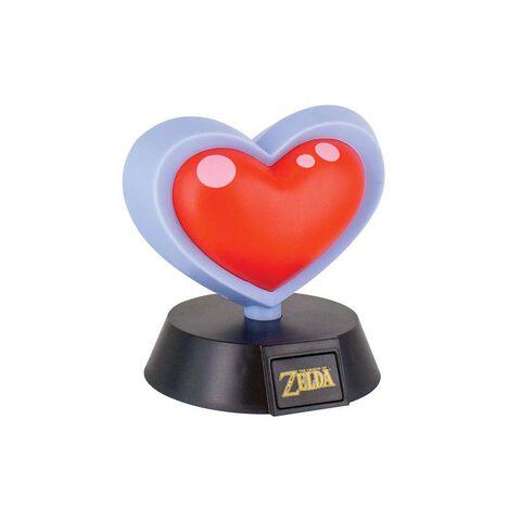 Lampe - Zelda - Coeur 3d