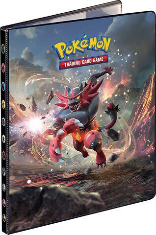 Cahier range cartes - Pokémon - Soleil & Lune 1 - 80 cartes