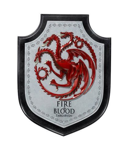 Decoration Murale - Game Of Thrones - Targaryen House 30 Cm