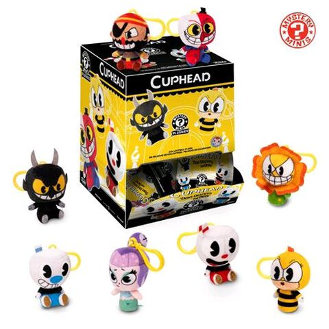 Porte-cles Mystere - Cuphead - Peluches