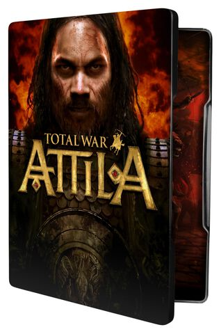 Total War Attila Edition Steelbook Exclusivité Micromania
