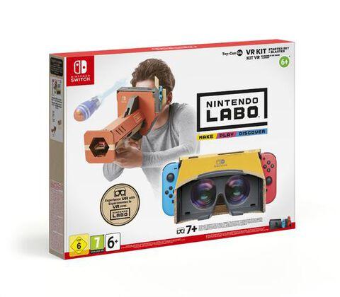 Nintendo Labo Kit Vr Ensemble De Base + Canon