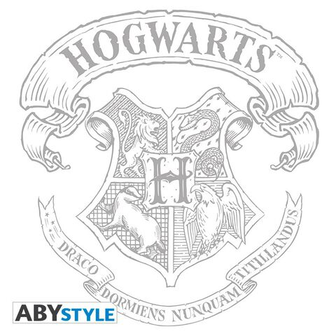 T-shirt Femme - Harry Potter - Poudlard - Blanc - Taille S