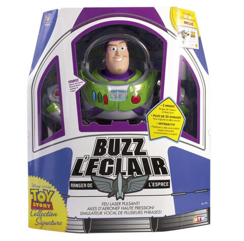 Figurine - Toy Story - Buzz l'Eclair Collection Signature