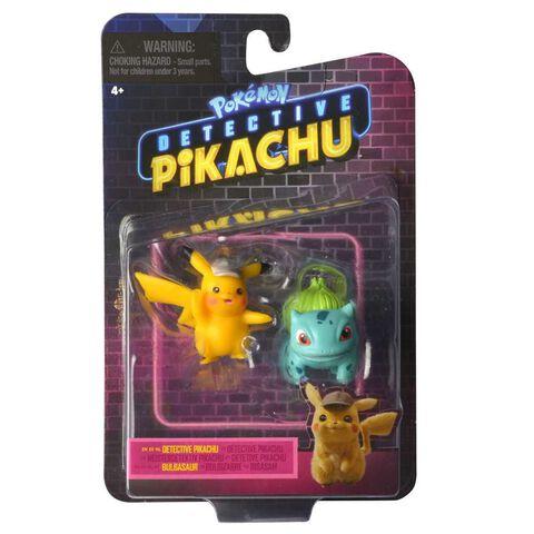 Figurines - Pokémon Détective Pikachu - Figurines 3-5 cm et 8 cm