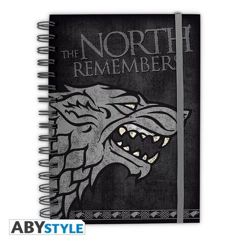 Cahier - Game of Thrones - Stark North Remembers