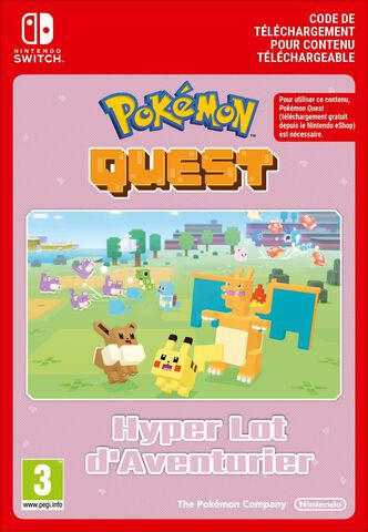Pokémon Quest - DLC : Hyper Lot d'Aventurier Pack - Version digitale