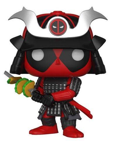 Figurine Funko Pop! N°329 - Deadpool - Playtime Samurai - Exclusivité Micromania-Zing
