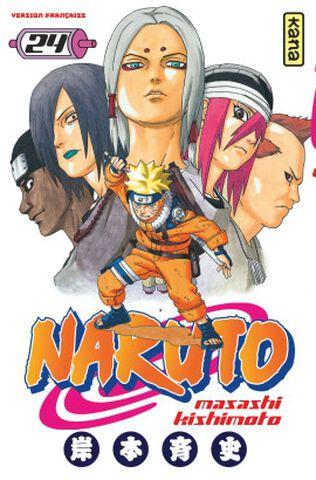 Manga - Naruto - Tome 24