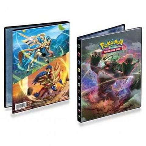 Cahier Range Cartes Pokemon Epee Et Bouclier 3 80c Pokemon