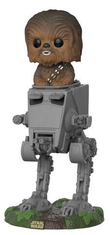 Figurine Funko Pop! N°236 - Star Wars - Chewbacca dans AT-ST
