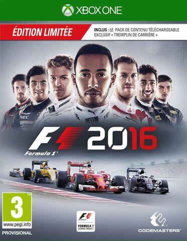 F1 2016 Edition Limitée D1