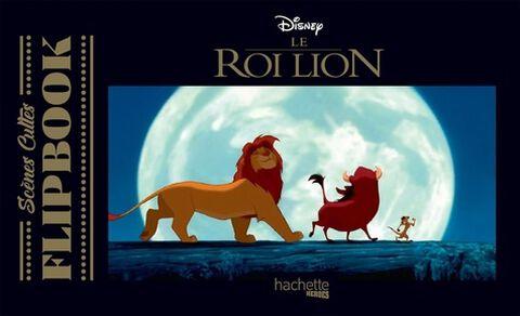 Livre - Flip Book - Le Roi Lion