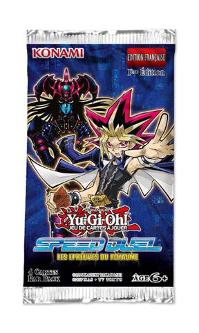 Booster - Yu-gi-oh! -  Speed Duel Les Epreuves Du Royaume