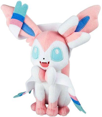 Peluche - Pokemon - Nymphali (exclu Micromania)