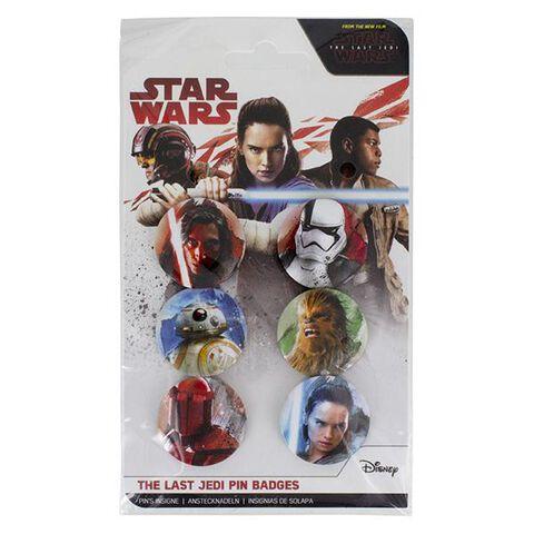 Badges - Star Wars : Les Derniers Jedi - Personnages