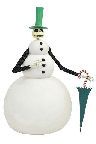Figurine Diamond Select - L'Étrange Noël de Monsieur Jack - Deluxe Snowman Jack