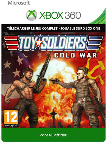 Toy Soldiers Cold War Digital Xbox 360 à Jouer sur Xbox One - Jeu complet - Version digitale