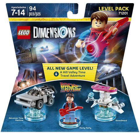 Figurine Lego Dimensions Marty Mcfly - Retour Vers Le Futur