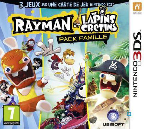 The Rayman et les Lapins Crétins - Pack Famille