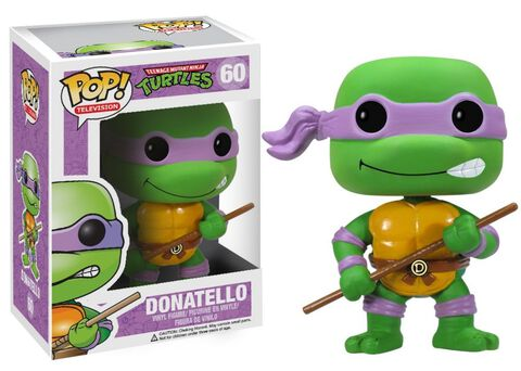 Figurine Funko Pop! N°60 - Les Tortues Ninja - Donatello