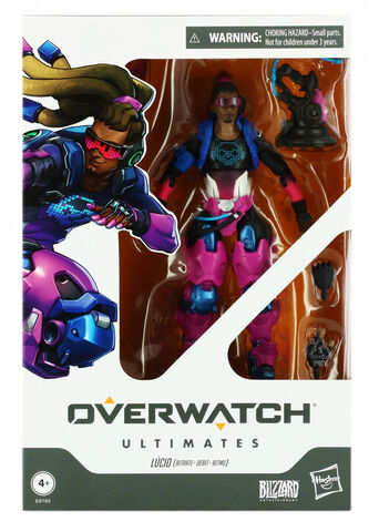 Figurine Ultimates - Overwatch - Lucio (exclusivité Micromania)
