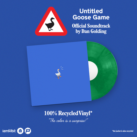Vinyle Untitled Goose Game Soundtrack