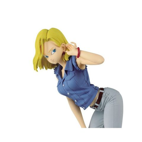 Figurine Glitter & Glamours - Dragon Ball Z - Android N°18 V2 (version A)