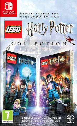 Calendrier Jeux Switch.Lego Harry Potter Collection Switch