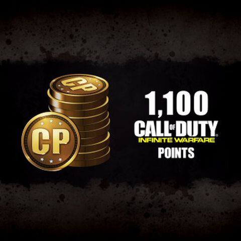 DLC - Call of Duty Infinite Warfare 1100 Points - PS4