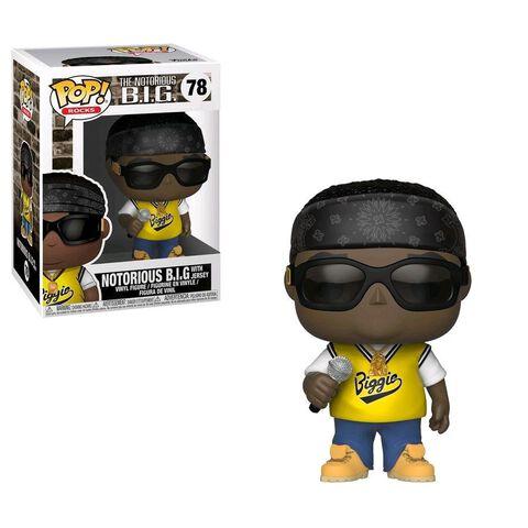 Figurine Funko Pop! N°78 - Rocks - Notorious B.i.g. avec maillot