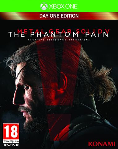 Metal Gear Solid V The Phantom Pain Dayone