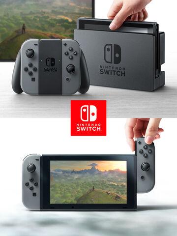 Nintendo Switch Avec Une Paire De Joy-con - Occasion